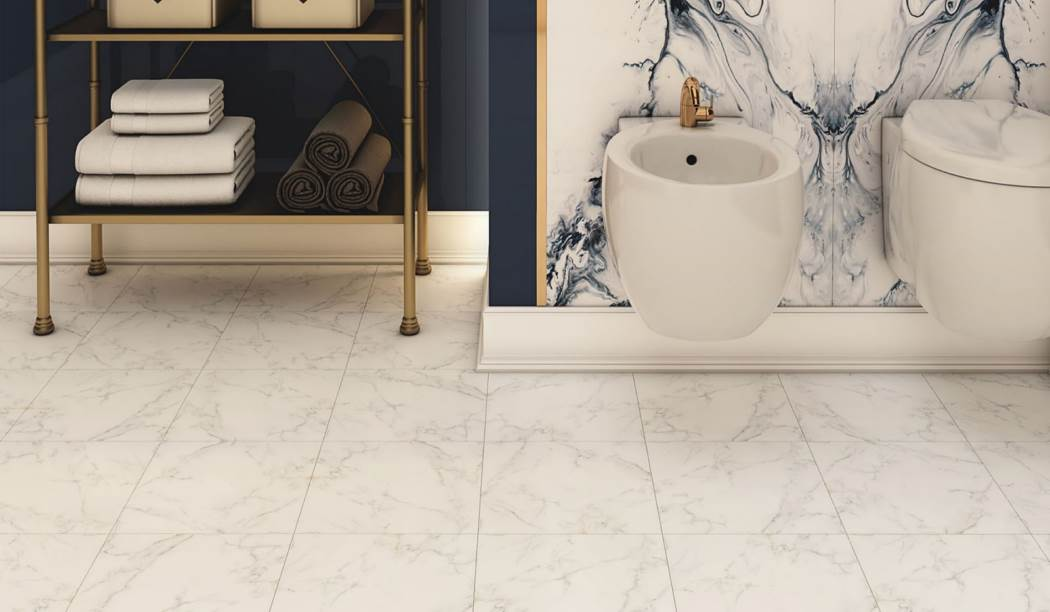 boom ceramic , Floor Tile  Alvino Design , White Stone texture , Matt Flat in size 30 * 30