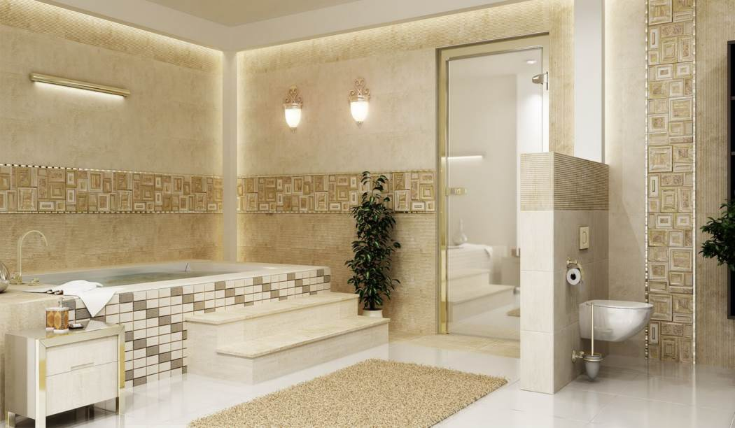 wall tile and floor tile , boom ceramic ، Wall Tile Design Classico Cream Size 90*30 glaze Matt with Base Cement