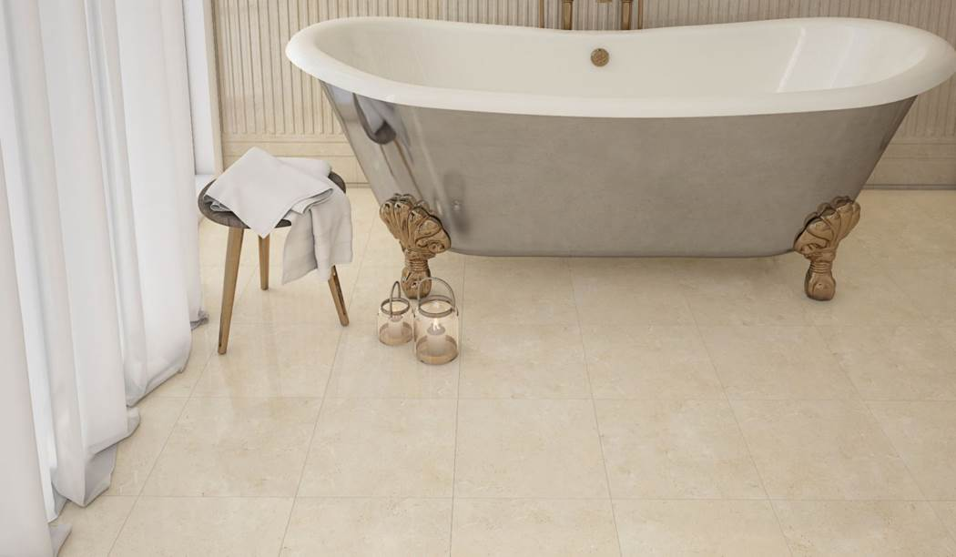 boom ceramic , Floor Tile Design Cleopatra , Cream Stone texture , Matt Flat in size 30 * 30