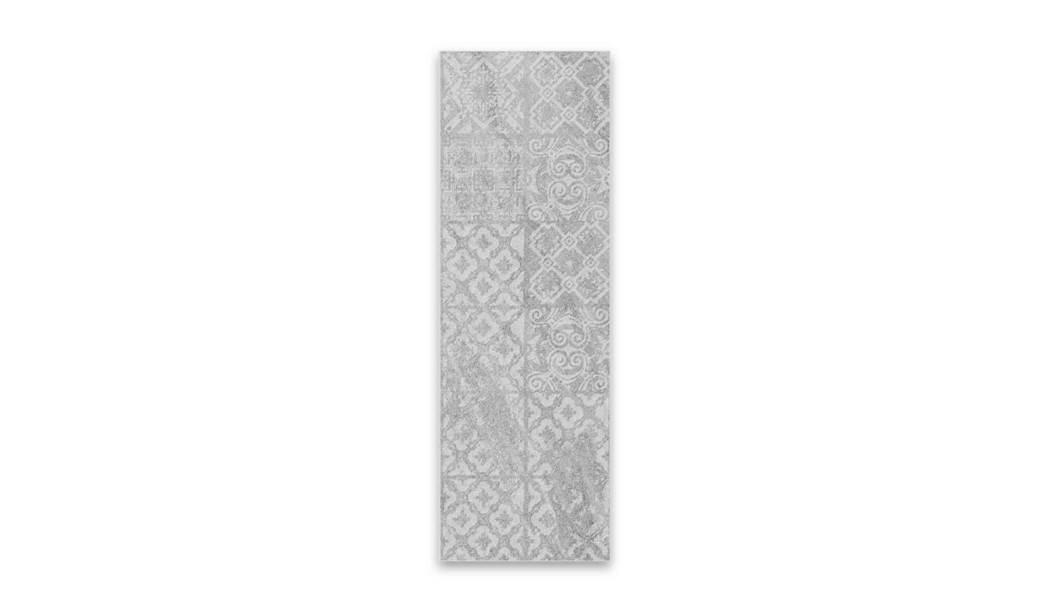 boom ceramic , Wall Tile Tyumen Décor , Light Gray Cement texture , Matt Rustic in size 30*90
