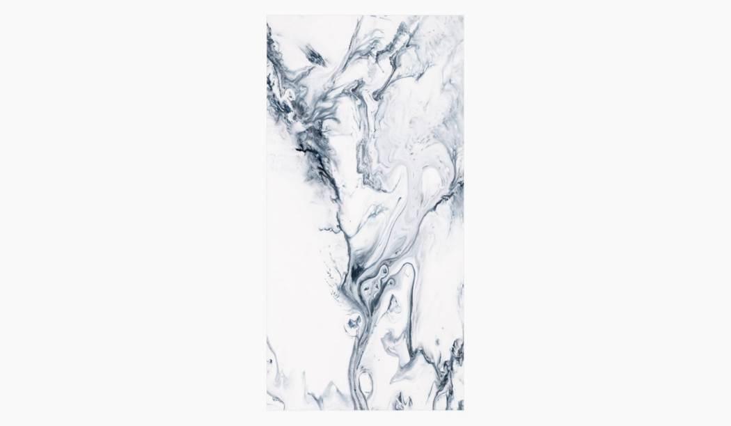 کاشی و سرامیک بوم سرامیک ، سرامیک پرسلان آمولایت (طرح2) سفید سایز 120*60 لعاب فول پولیش صاف با زمینه سنگی