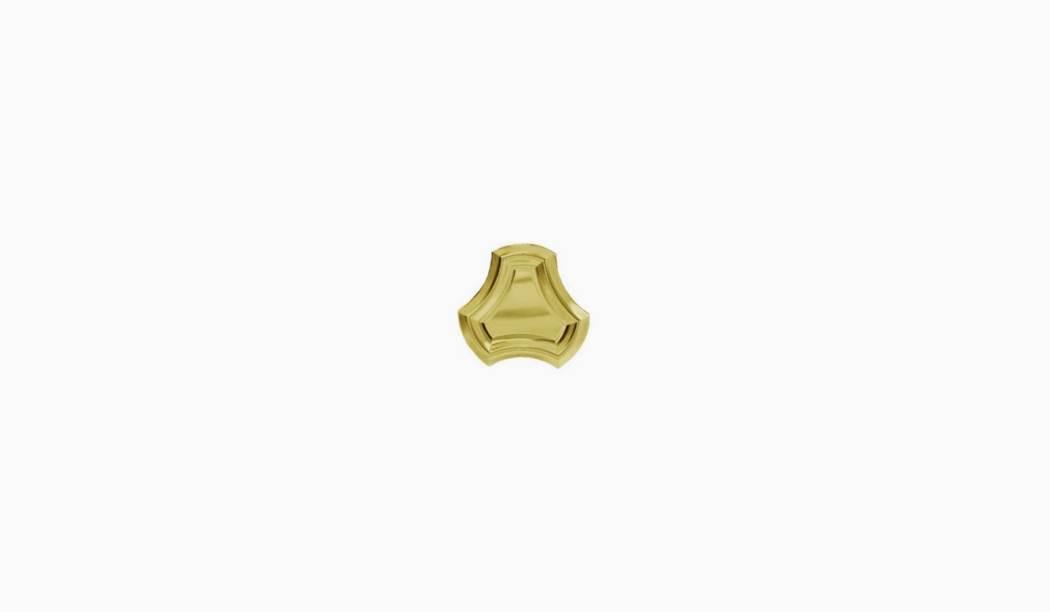 کاشی و سرامیک بوم سرامیک ، دکوراتیو سانیتا موزاییکی طلایی سایز 15 * 15 لعاب پانچ براق برش موزائیکی با زمینه فلزی