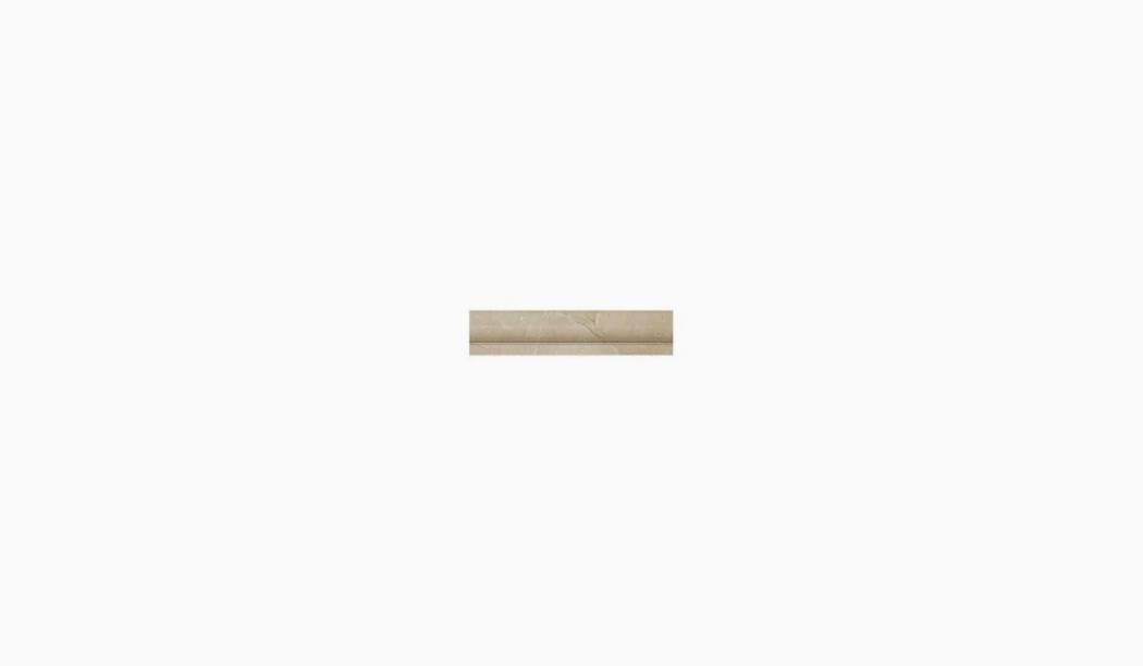 کاشی و سرامیک بوم سرامیک ، کاشی دیوار آریستو باند کرم سایز 33*5 لعاب پانچ براق صاف با زمینه سنگی