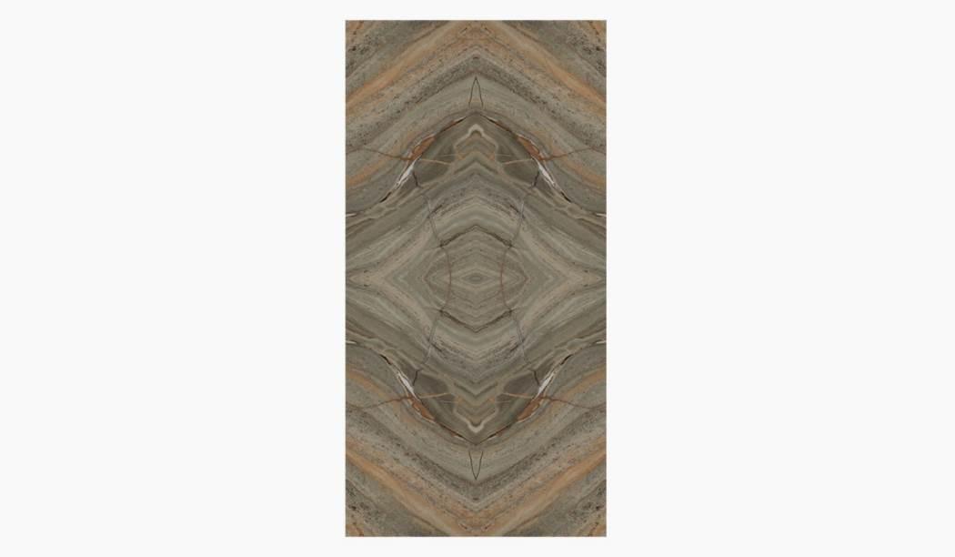 کاشی و سرامیک بوم سرامیک ، سرامیک پرسلان آزوریت قهوه ای تیره سایز 120*60 لعاب براق صاف با زمینه سنگی
