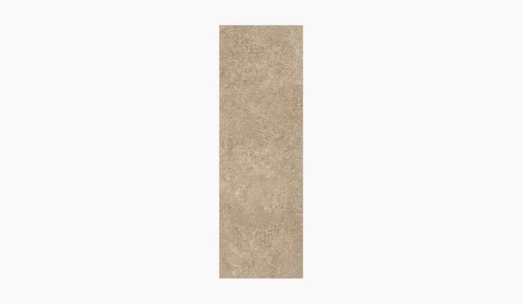 کاشی و سرامیک بوم سرامیک ، کاشی دیوار کاتالینا کرم تیره سایز 90*30 لعاب مات صاف با زمینه سیمانی