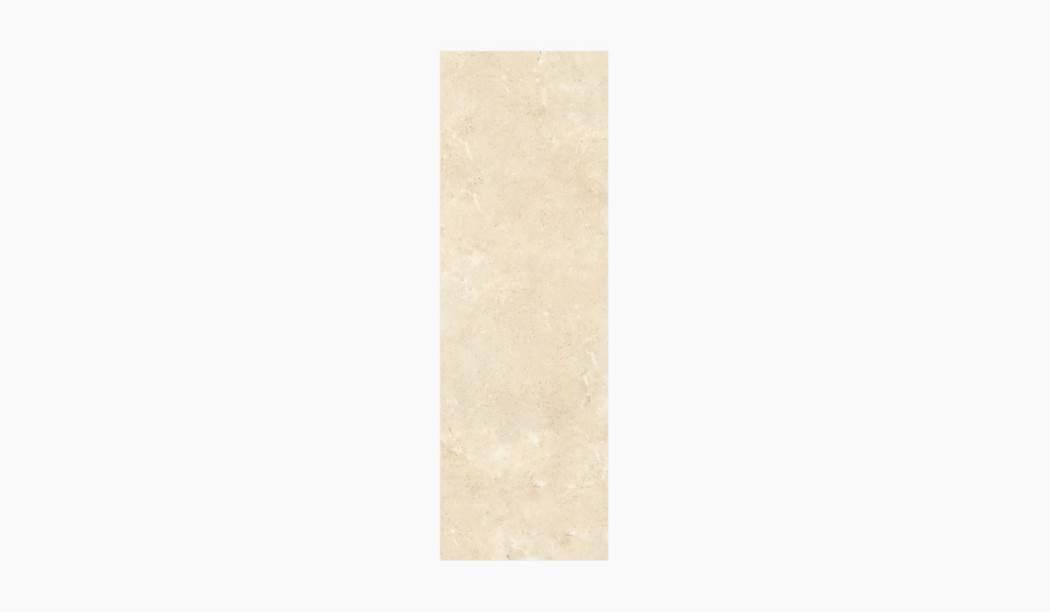 کاشی و سرامیک بوم سرامیک ، کاشی دیوار کلئوپاترا کرم سایز 90*30 لعاب براق صاف با زمینه سنگی