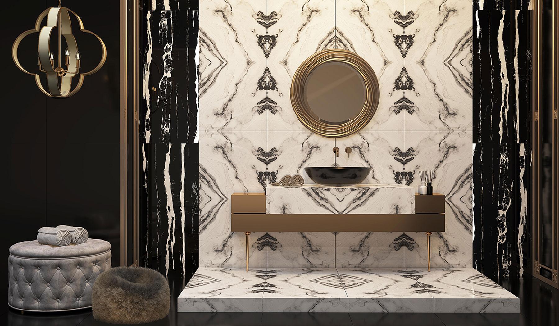 کاشی و سرامیک بوم سرامیک ، سرامیک پرسلان طرح فسیل سفید سایز 60*120 لعاب فول پولیش صاف با زمینه سنگ