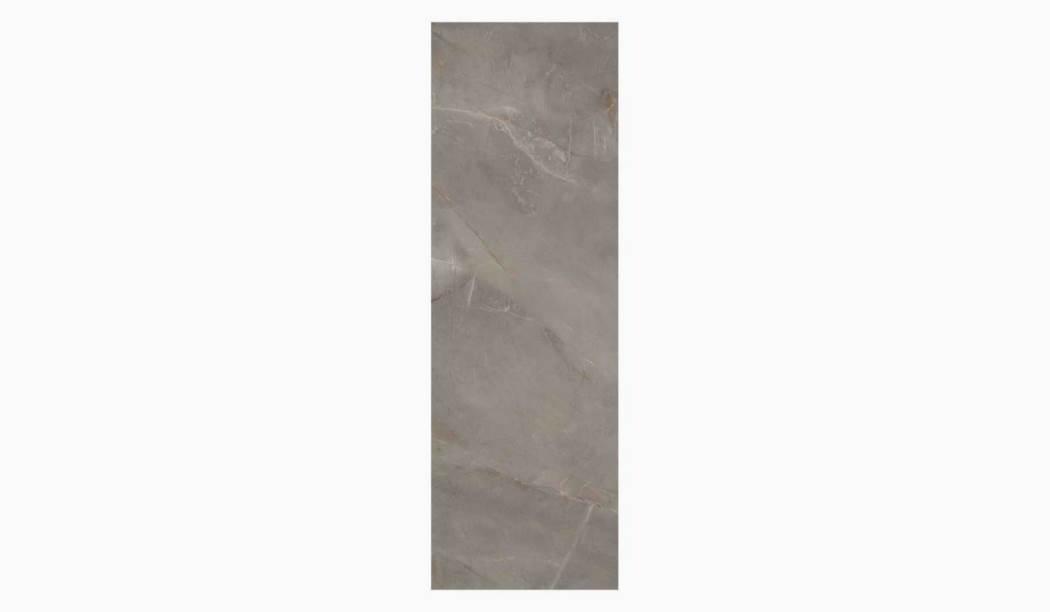 کاشی و سرامیک بوم سرامیک ، کاشی دیوار لافانزو طوسی سایز 100 * 33 لعاب براق صاف با زمینه سنگی