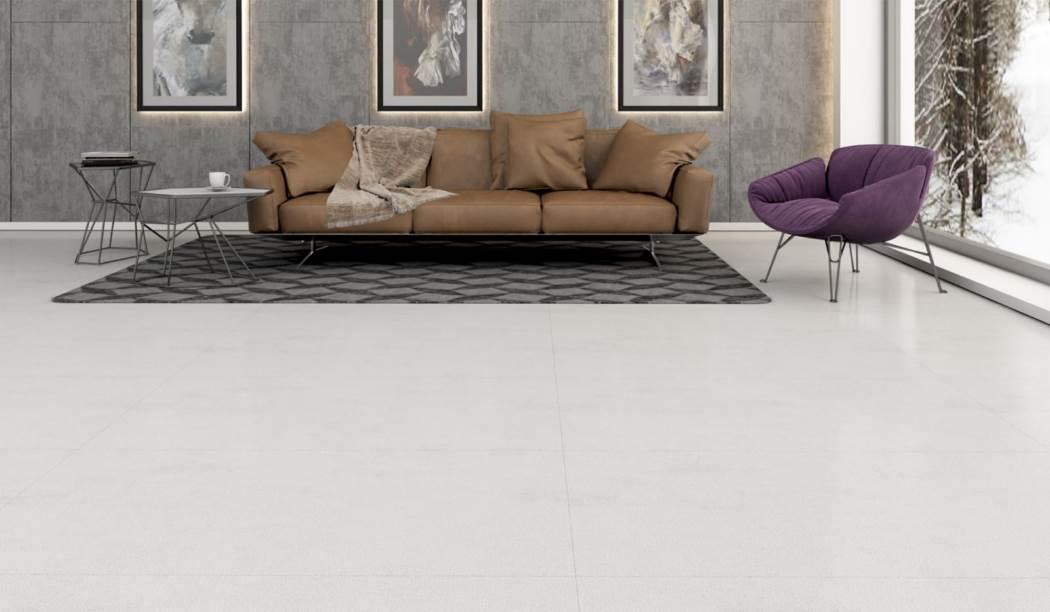 کاشی و سرامیک بوم سرامیک ، سرامیک پرسلان طرح مانیچی سفید سایز 120*60 لعاب نیمه پولیش شوگر افکت رستیک با زمینه سنگی