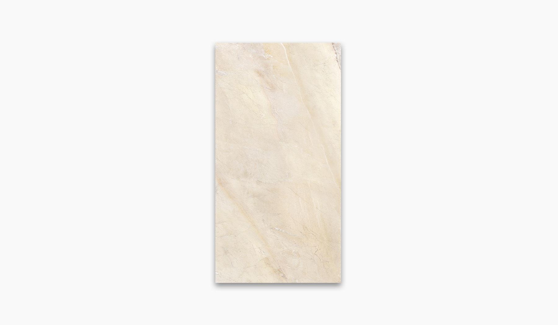 کاشی و سرامیک بوم سرامیک ، کاشی دیوار مانیس کرم سایز 30*60 لعاب براق صاف با زمینه سنگ