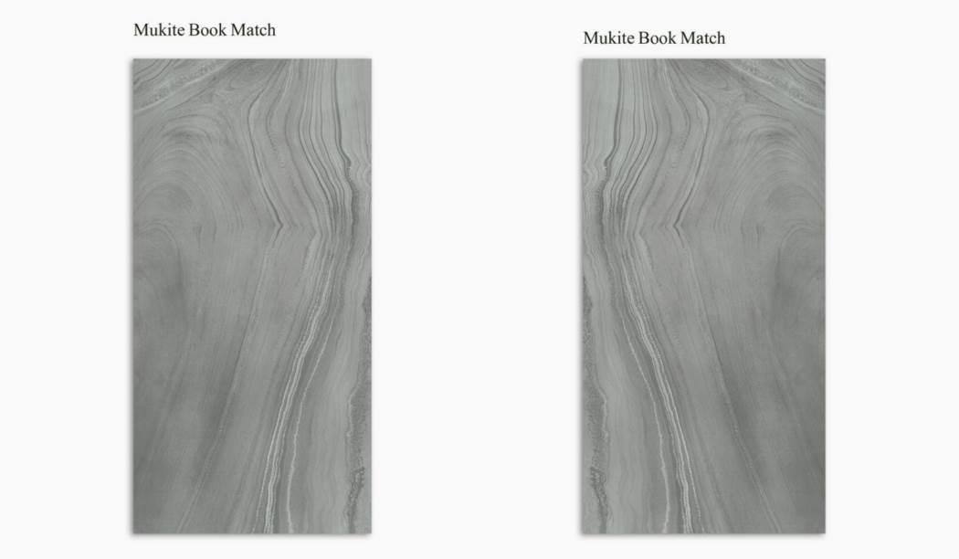 کاشی و سرامیک بوم سرامیک ، سرامیک پرسلان مجموعه موکایت بوک مچ طوسی سایز 120*60 لعاب براق صاف با زمینه سنگی