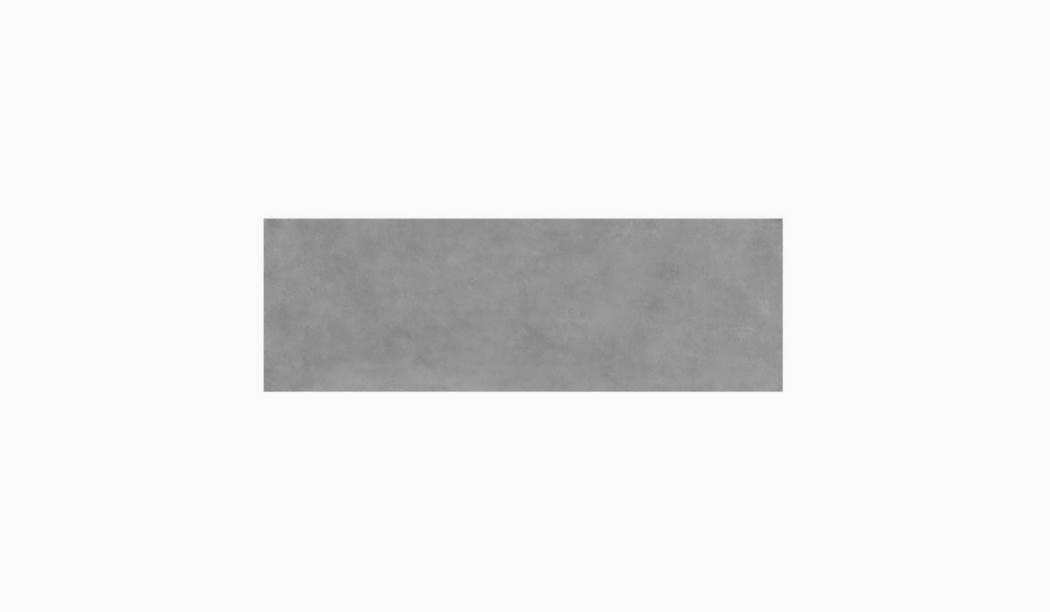 کاشی و سرامیک بوم سرامیک ، کاشی دیوار نیوتراوین طوسی تیره سایز 90 * 30 لعاب مات صاف با زمینه سیمانی