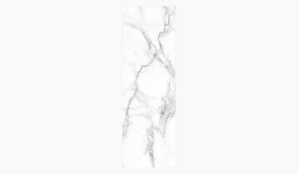 کاشی و سرامیک بوم سرامیک ، کاشی دیوار کوآنتوم رندوم (طرح1) سفید سایز 100*33 لعاب براق صاف با زمینه سنگی