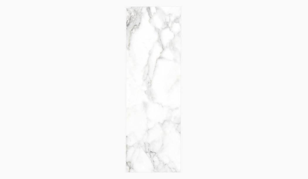 کاشی و سرامیک بوم سرامیک ، کاشی دیوار کوآنتوم رندوم  (طرح2) سفید سایز 100*33 لعاب براق صاف با زمینه سنگی