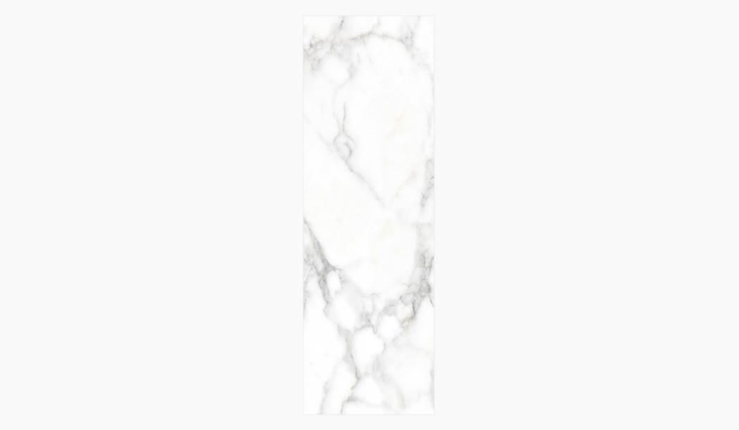 کاشی و سرامیک بوم سرامیک ، کاشی دیوار کوآنتوم رندوم  (طرح3) سفید سایز 100*33 لعاب براق صاف با زمینه سنگی