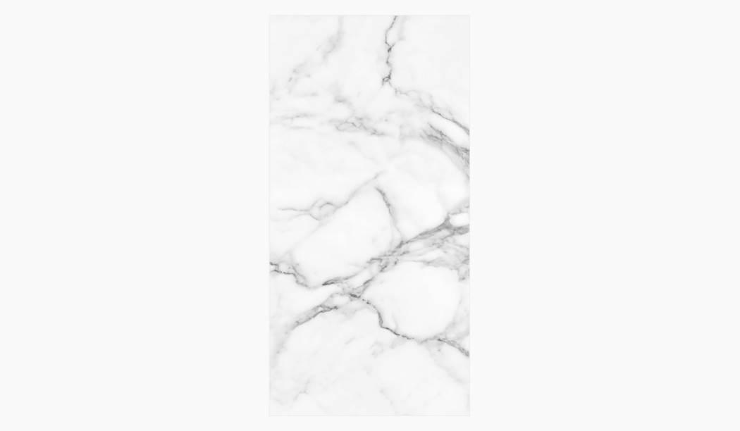 کاشی و سرامیک بوم سرامیک ، سرامیک پرسلان کوآنتوم بوک مچ (طرح2) سفید سایز 120 * 60 لعاب فول پولیش صاف با زمینه سنگی
