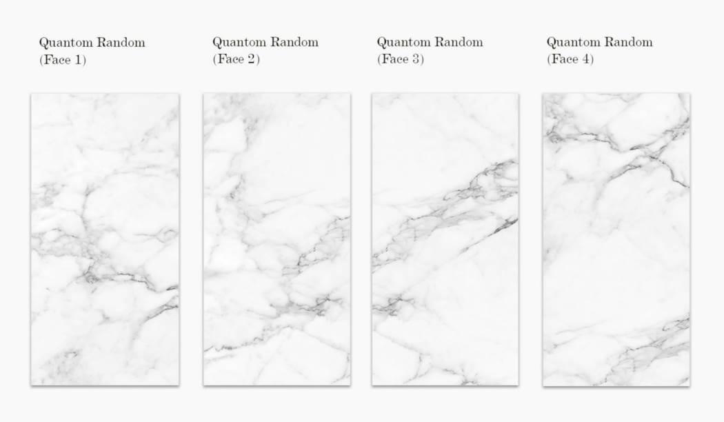 کاشی و سرامیک بوم سرامیک ، سرامیک پرسلان مجموعه کوآنتوم رندوم سفید سایز 120*60 لعاب فول پولیش صاف با زمینه سنگی