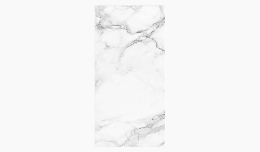 کاشی و سرامیک بوم سرامیک ، سرامیک پرسلان کوآنتوم رندوم  (طرح4) سفید سایز 120*60 لعاب فول پولیش صاف با زمینه سنگی
