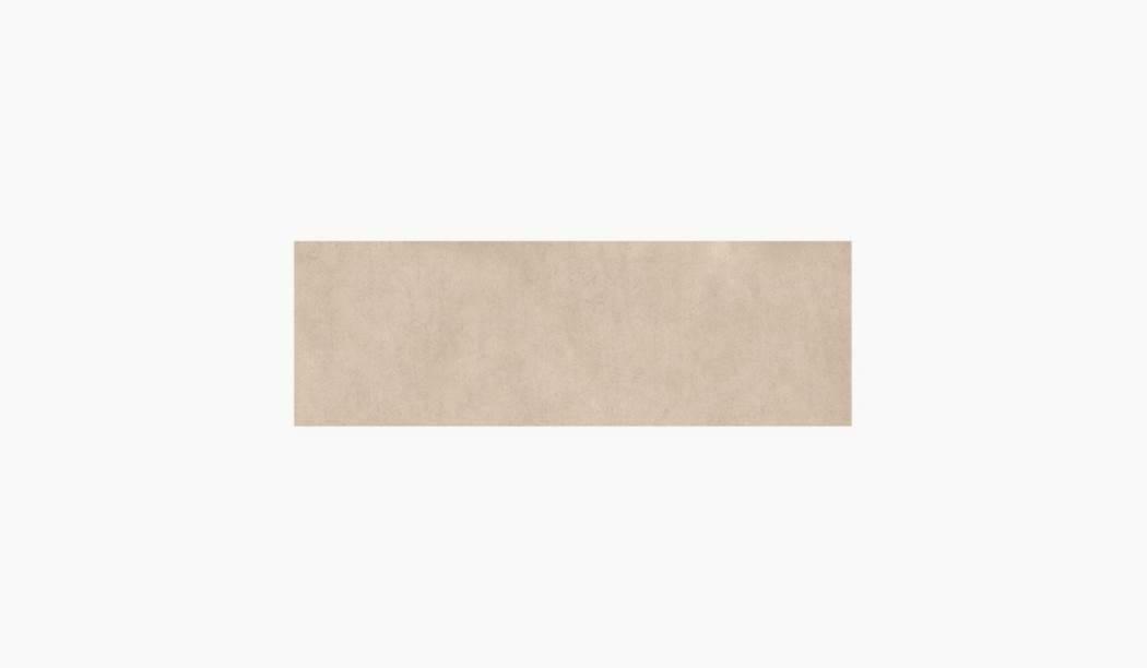 کاشی و سرامیک بوم سرامیک ، کاشی دیوار سالسا بژ تیره سایز 90 * 30 لعاب مات صاف با زمینه سیمانی