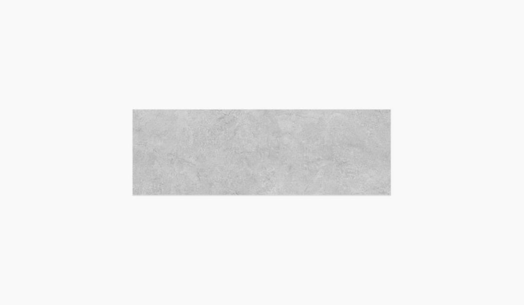 کاشی و سرامیک بوم سرامیک ، کاشی دیوار ساورز طوسی سایز 30*90 لعاب مات پانچ با زمینه سیمانی