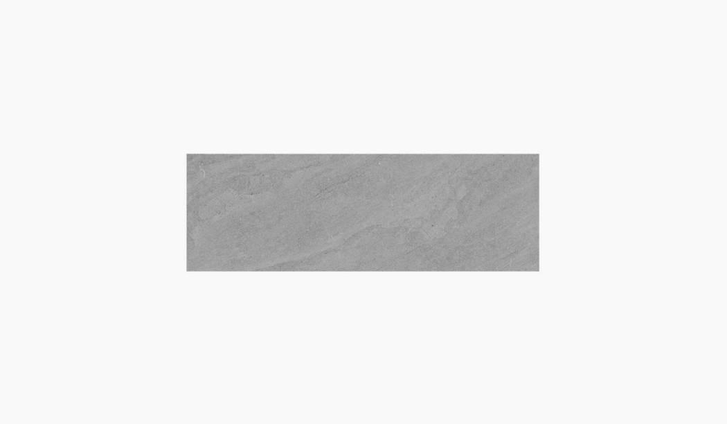 کاشی و سرامیک بوم سرامیک ، کاشی دیوار تیومن طوسی تیره سایز 30*90 لعاب مات رستیک با زمینه سیمانی
