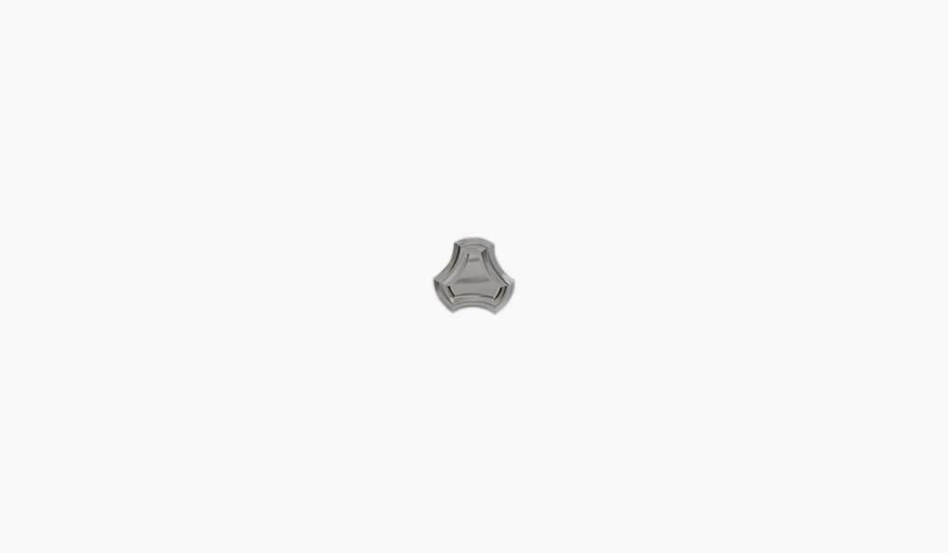 کاشی و سرامیک بوم سرامیک ، کاشی دکوراتیو آلامبرا موزاییکی نقره ای سایز 15*15 لعاب پانچ براق پخت سوم با زمینه سنگی