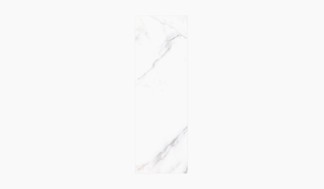 کاشی و سرامیک بوم سرامیک ، کاشی دیوار آلوینو (طرح1) سفید سایز 90*30 لعاب براق صاف با زمینه سنگی