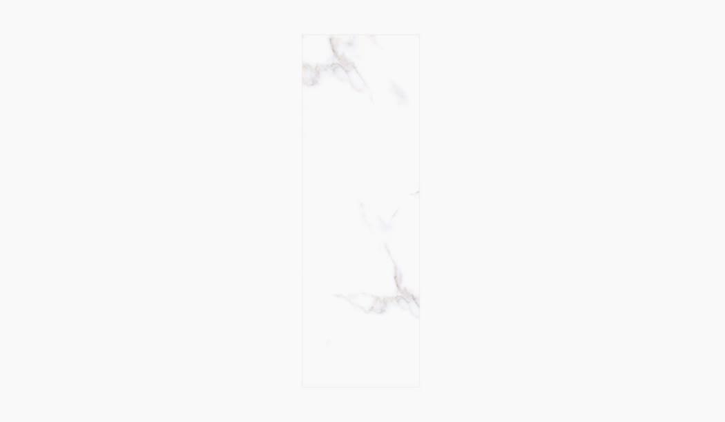 کاشی و سرامیک بوم سرامیک ، کاشی دیوار آلوینو (طرح2) سفید سایز 90*30 لعاب براق صاف با زمینه سنگی