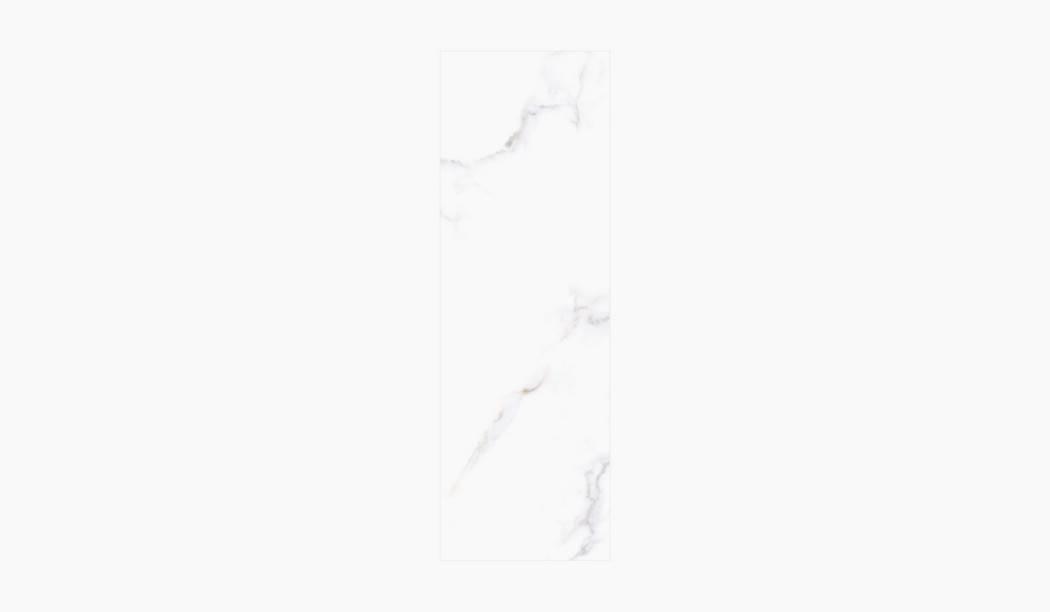 کاشی و سرامیک بوم سرامیک ، کاشی دیوار آلوینو (طرح3) سفید سایز 90*30 لعاب براق صاف با زمینه سنگی