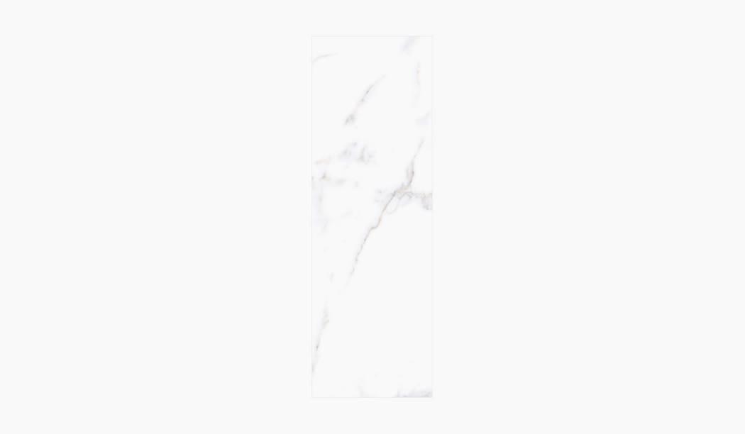 کاشی و سرامیک بوم سرامیک ، کاشی دیوار آلوینو (طرح4) سفید سایز 90*30 لعاب براق صاف با زمینه سنگی