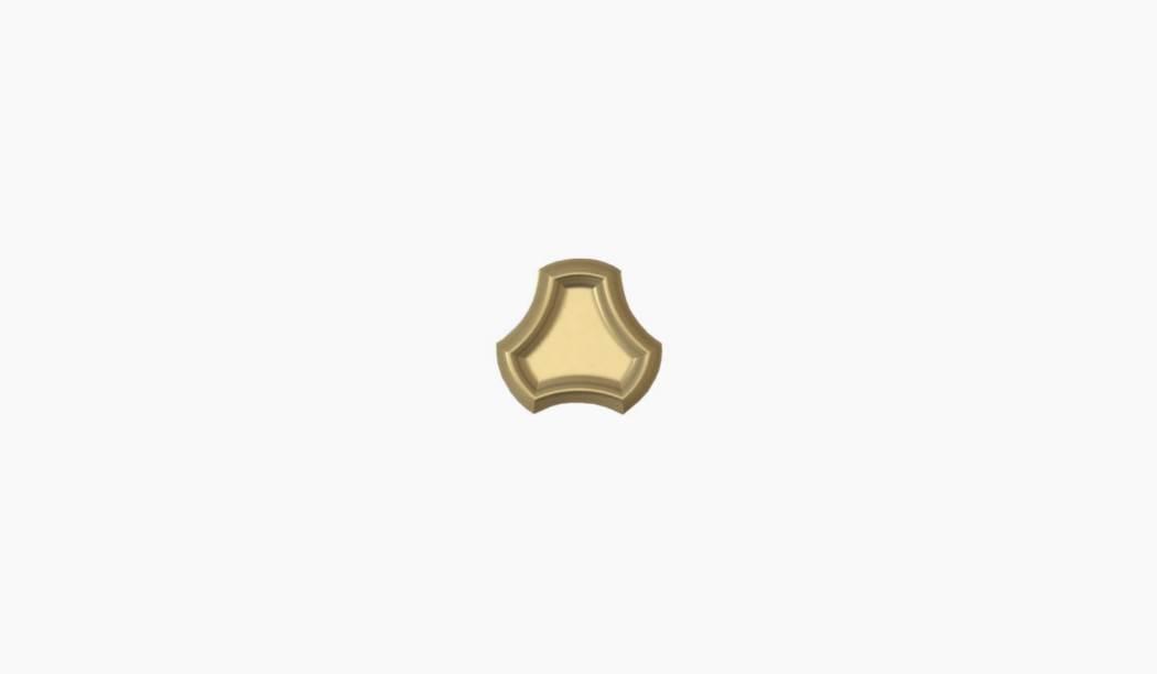 کاشی و سرامیک بوم سرامیک ، کاشی دکوراتیو آریزو موزاییکی طلایی سایز 25*25 لعاب پانچ براق پخت سوم با زمینه فانتزی