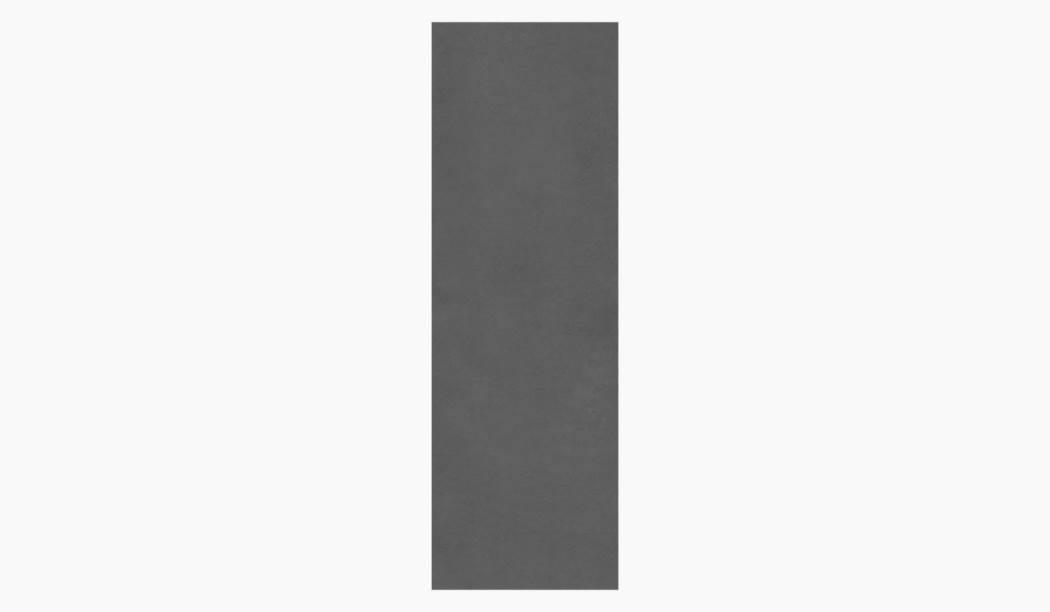 کاشی و سرامیک بوم سرامیک ، کاشی دیوار هامر طوسی تیره سایز 33*100 لعاب مات رستیک با زمینه سیمانی