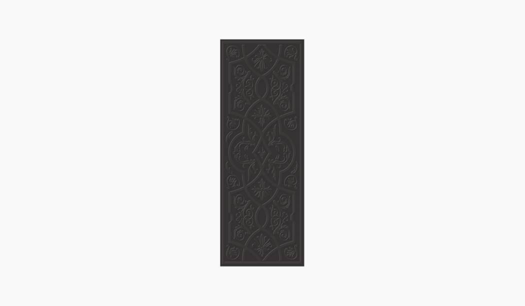 کاشی و سرامیک بوم سرامیک ، کاشی دیوار رزالیا نوک مدادی نوک مدادی سایز 75*30 لعاب براق پانچ با زمینه آبرنگی
