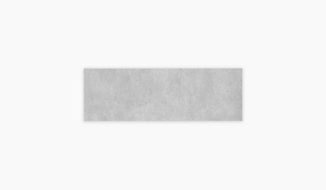کاشی و سرامیک بوم سرامیک ، کاشی دیوار سالسا طوسی روشن سایز 90 * 30 لعاب مات صاف با زمینه سیمانی