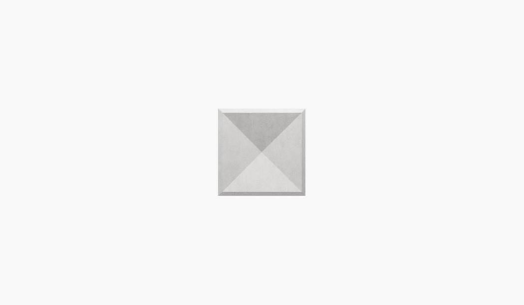 کاشی و سرامیک بوم سرامیک ، دکوراتیو دکور سالسا طوسی روشن سایز 30 * 30 لعاب مات پخت سوم با زمینه سیمانی